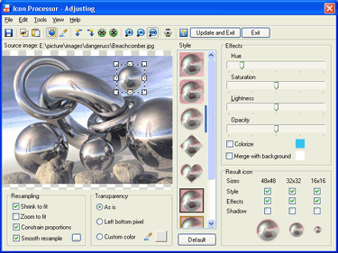 Icon Processor Screenshot
