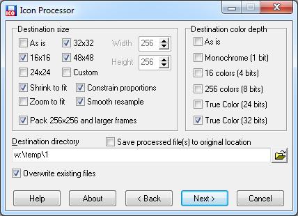 Icon Generator and Processor
