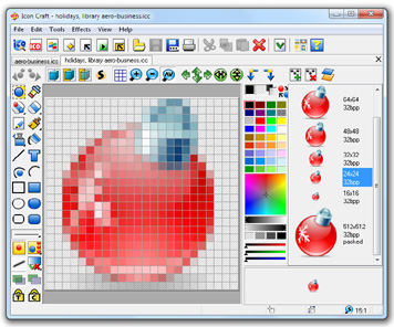 Click to view Icon Craft 4.61 screenshot