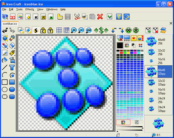 Icon Craft editor - Icon Editor for Windows: www.iconempire.com/iconempire
