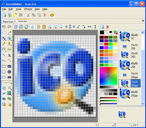 Create smooth multi-resolution icons for Windows with this icon maker