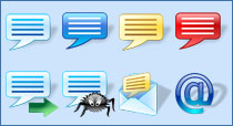 Messenger Icons for Vista