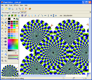 Click to view Pixel Editor 2.23 screenshot