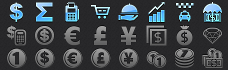 Business App Tab Bar Icons for iPhone