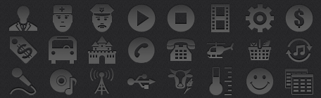 iPhone Tab Bar Icons