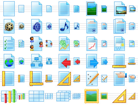 Click to view Paper Icon Library 1.7 screenshot